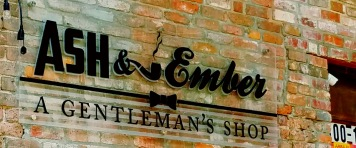 Ash & Ember Gentelman's Shop logo