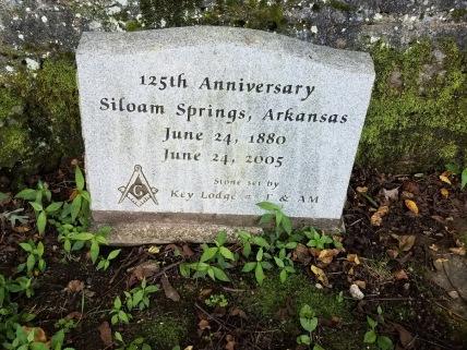 Siloam Springs Headstone