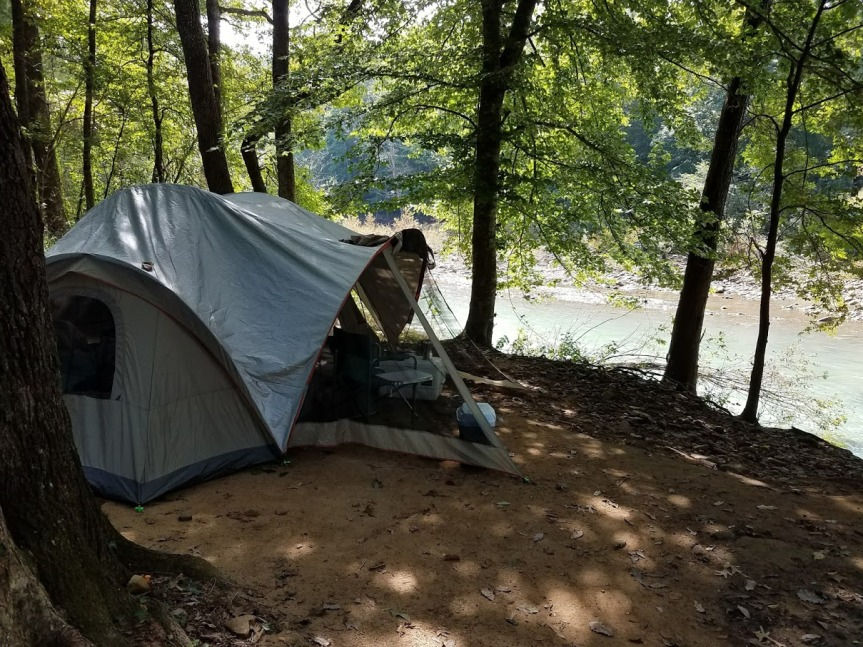 Camp at Wolf Pen Ozark AR