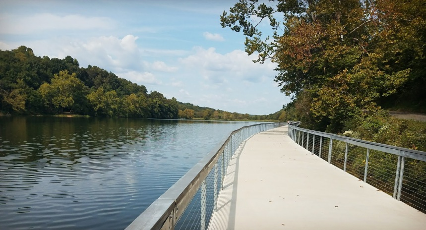 Lake Atlanta paved trail