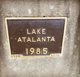 Lake Atlanta Sign